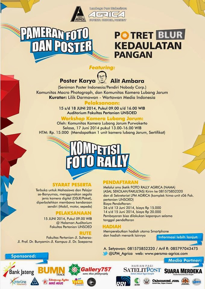 Lomba Foto Rally LPM Agrica