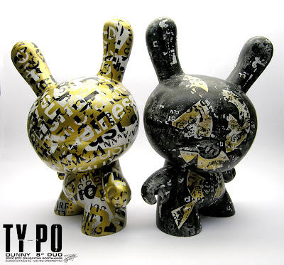 San Diego Comic-Con 2011 Exclusive Ty_po 8 Inch Dunnys by Ryan the Wheebarrow