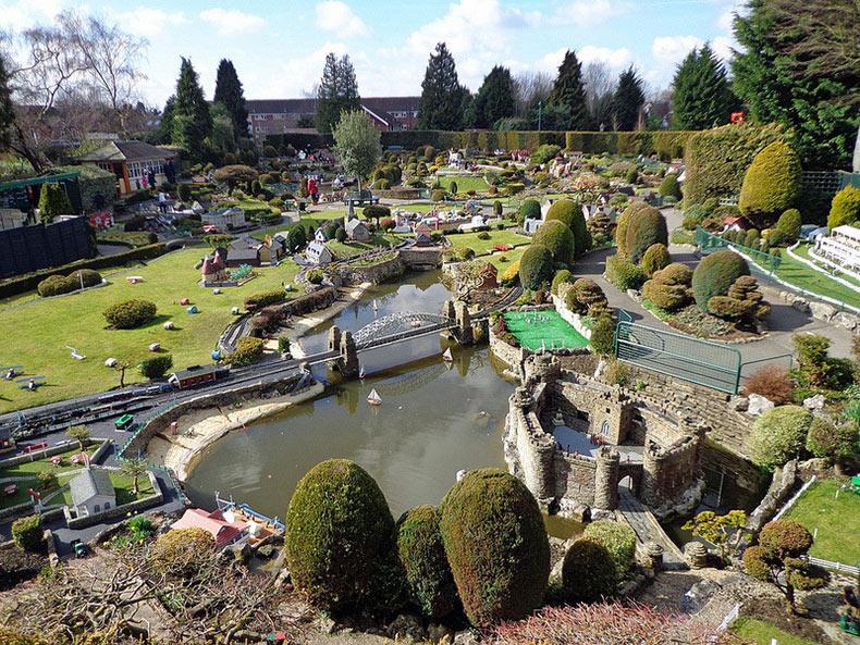 Bekonscot, la ciudad en miniatura más grande del mundo
