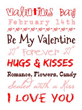 FREE Valentine:'s Printables