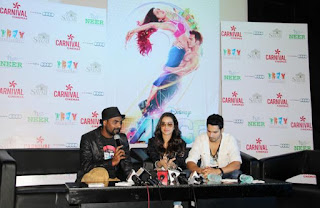 Remo, Shraddha Kapoor, Varun for Promotion of 'ABCD - Any Body Can Dance - 2' at Carnival Cinemas in Indore