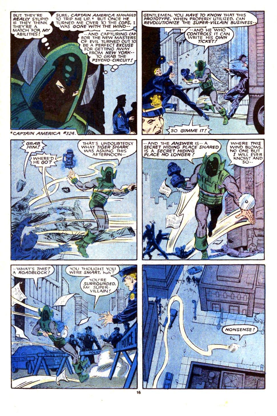 Captain America (1968) Issue #323b #252 - English 17
