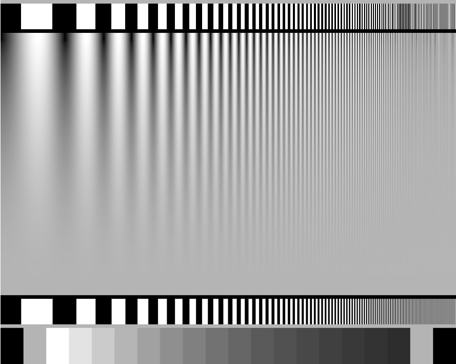 Wunderkammer High Resolution Test Patterns