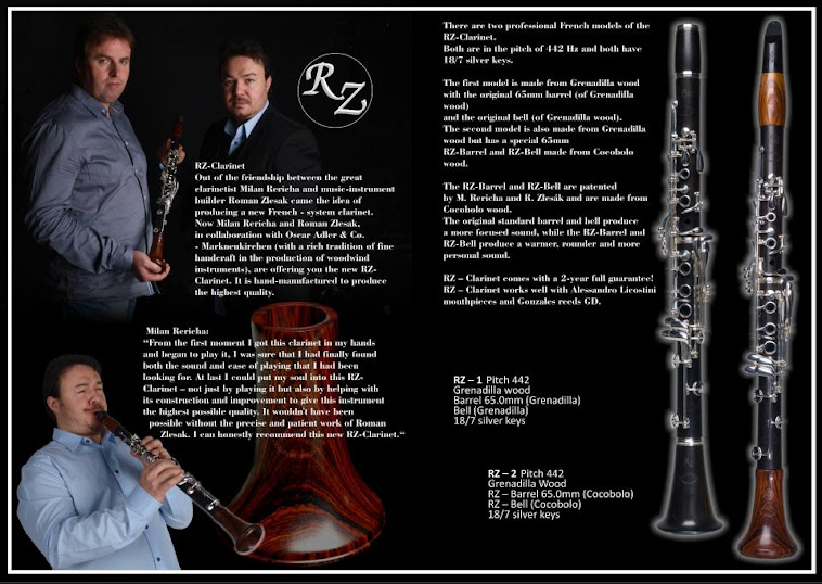 Clarinetes Oscar Adler & Co.