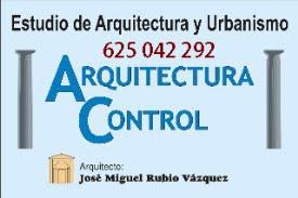 José Miguel Rubio. ARQUITECTO