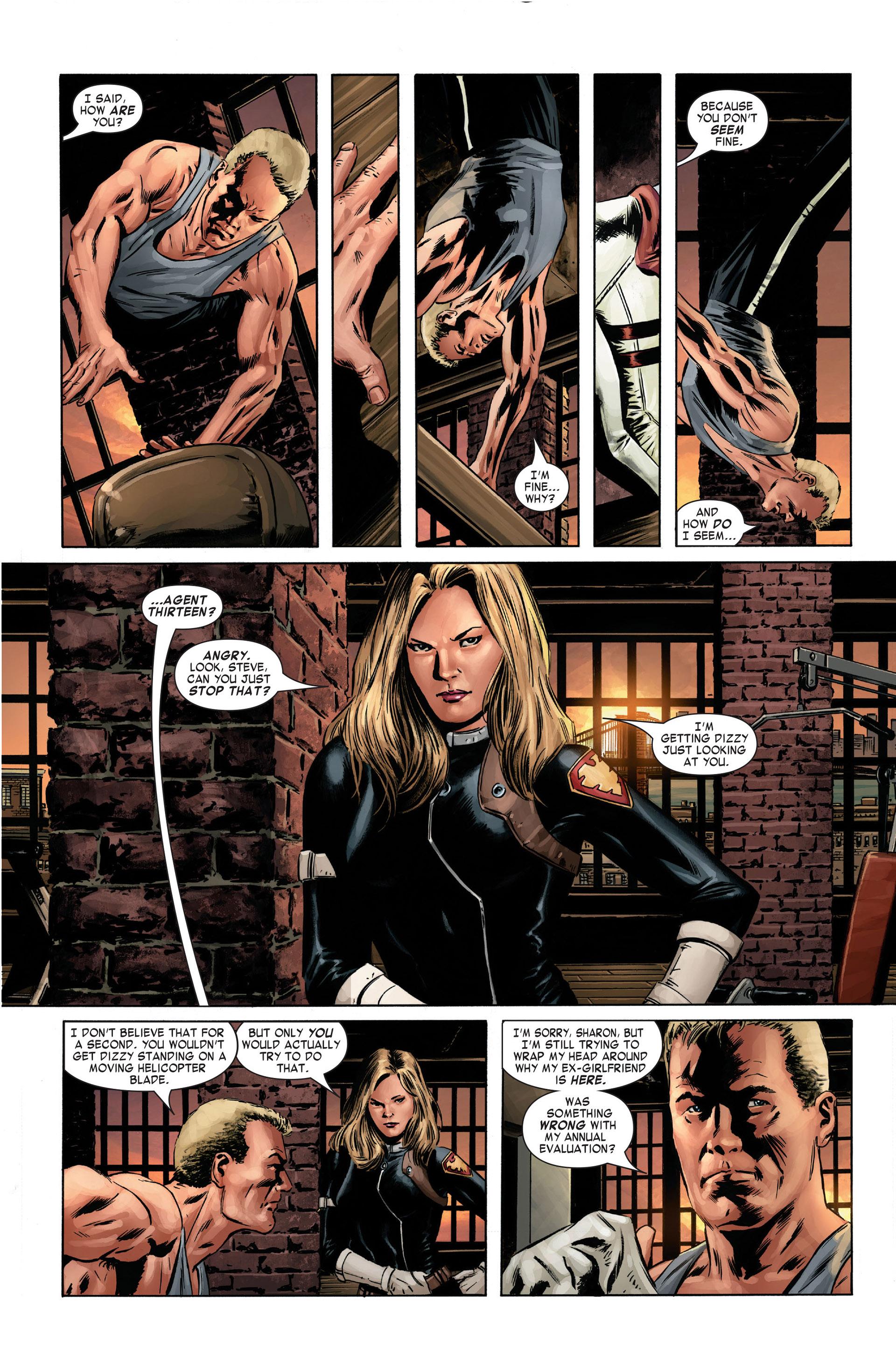 Captain America (2005) Issue #1 #1 - English 11
