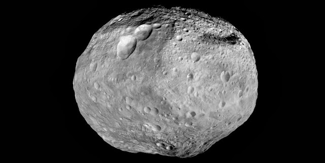 As NASA's Dawn spacecraft takes off for its next destination, this mosaic synthesizes some of the best views the spacecraft had of the giant asteroid Vesta. Image Credit: NASA/JPL-Caltech/UCAL/MPS/DLR/IDA