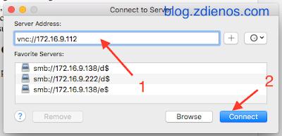 Mengakses Mac OS X melalui Screen Sharing - vnc