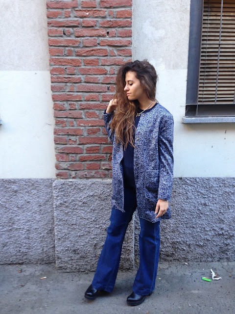 pantaloni a zampa, cappotto blu e la prima sessione esami, studente in crisi, fashion blogger outfit, ovspeople, ovsjourney, fashion need, valentina rago, fashion blogger italia, fashion blogger outfit