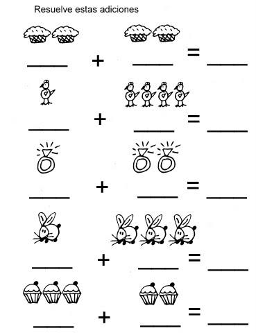 Magnífico Hojas De Trabajo Libres De Preescolar Matemáticas ...