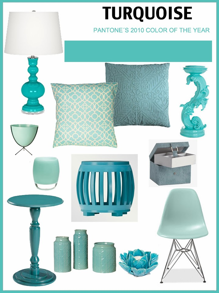 Turquoise, pantone color, design