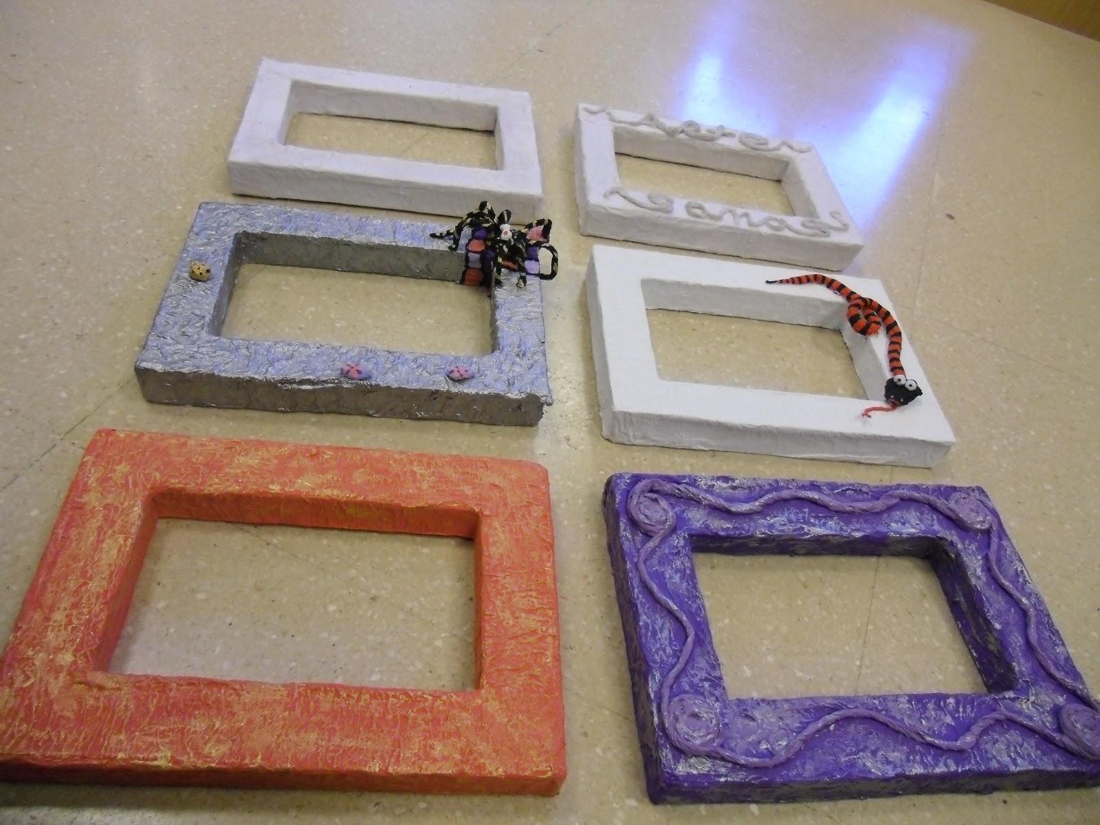Arte-Sanas!: Volumen y color a nuestros marcos