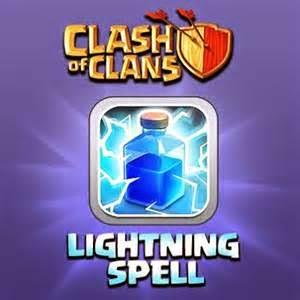 Lightning Spell COC