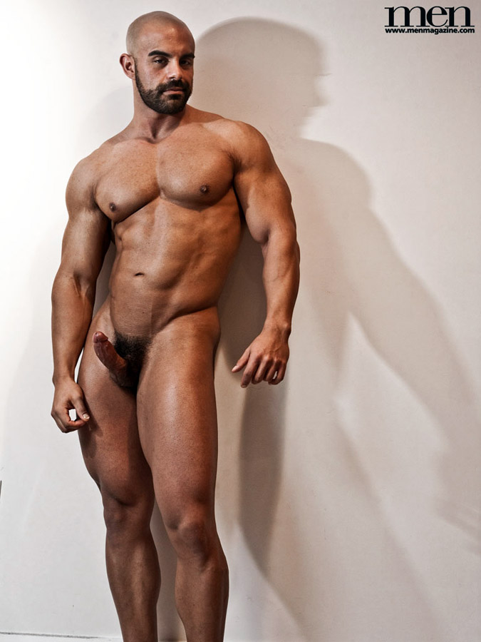 from Byron gay man muscle nude