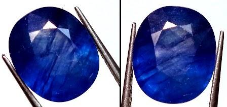 Batu Blue Safir Asli dan Palsu