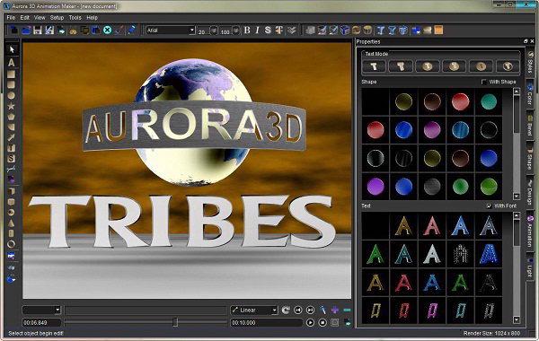 Aurora 3D Animation Maker 12.07.23 Full Keygen