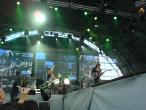 Scorpions, 9 iunie 2011, Bad Boys Running Wild, Rudolf Schenker, Matthias Jabs, Klaus Meine (in spate) si James Kottak (in spate la tobe)