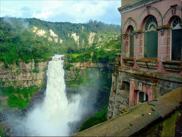Beautiful Places On The Earth   El Hotel Del Salto In Colombia