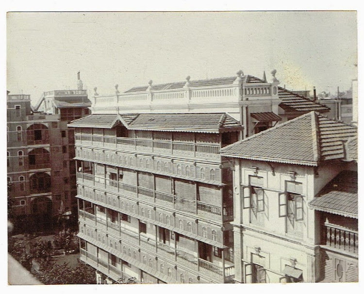 Apartment Buildings in Bombay (Mumbai) c1905-10