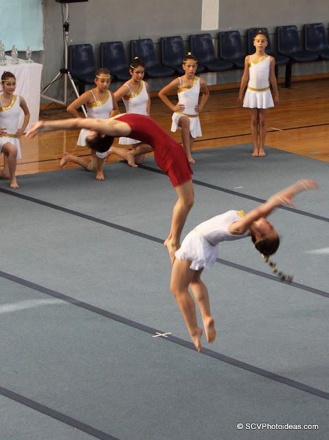 Rhythmic Acrobatic Gymnastics - floor exercises