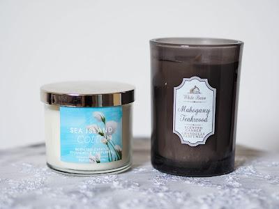 Bath & Body Works : Sea Island Cotton & Mahogany Teakwood