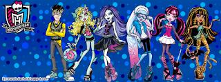 Capa da Monster High para Facebook
