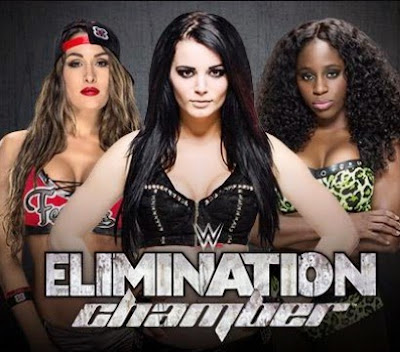WWE Elimination Chamber 2015 Match Timing Rules Pics |Telecast 1 June 2015 on TenSports