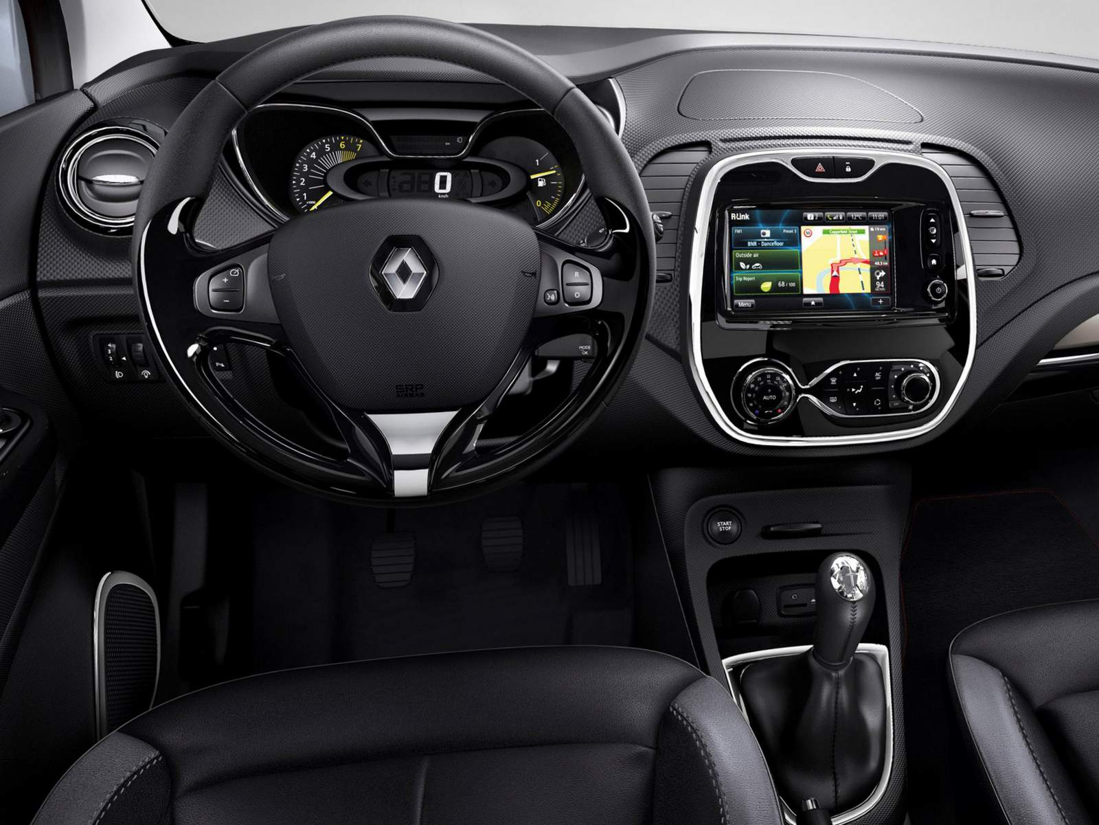 Oroch 2016 interior gallery for Interior renault captur