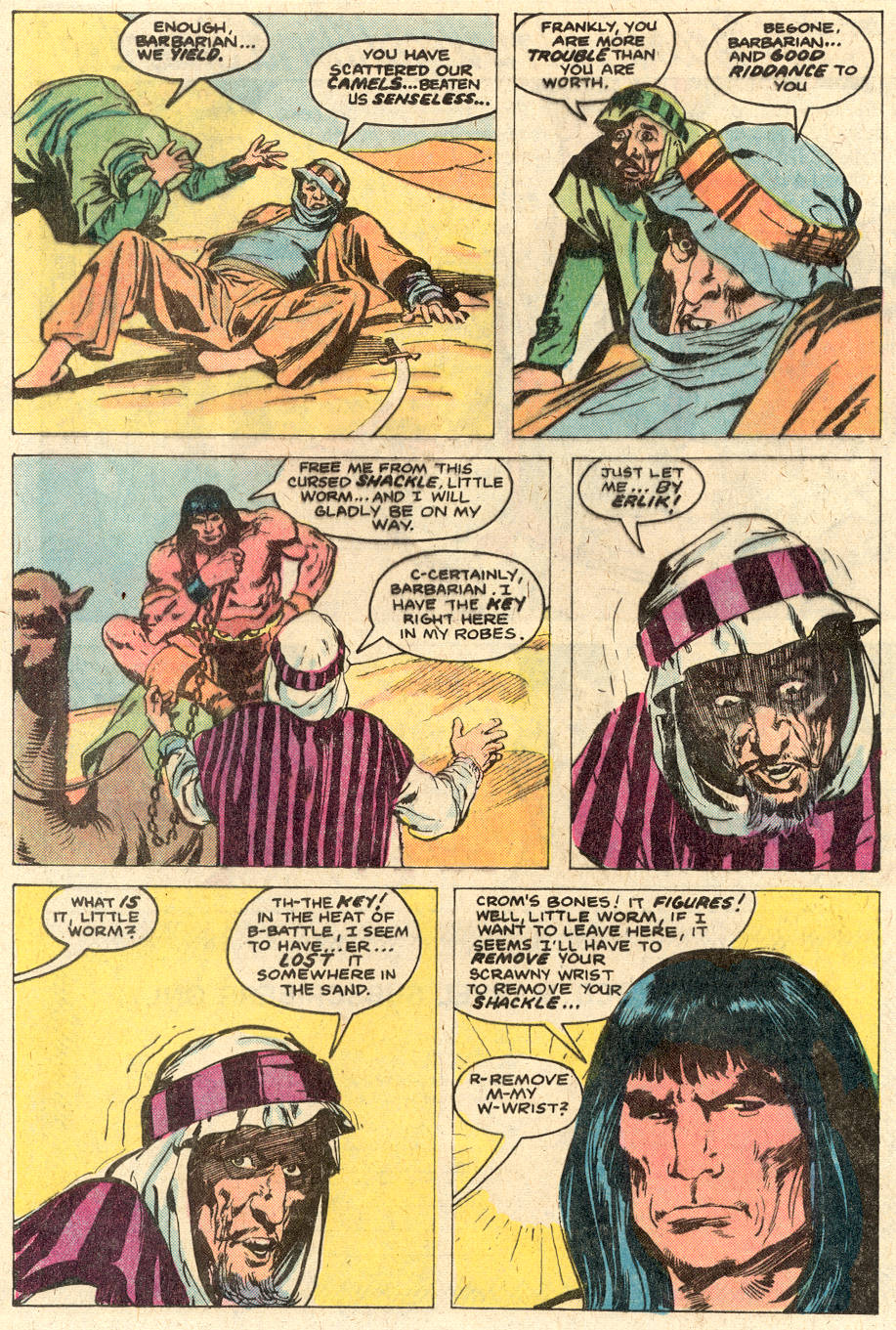 Conan the Barbarian (1970) Issue #116 #128 - English 8
