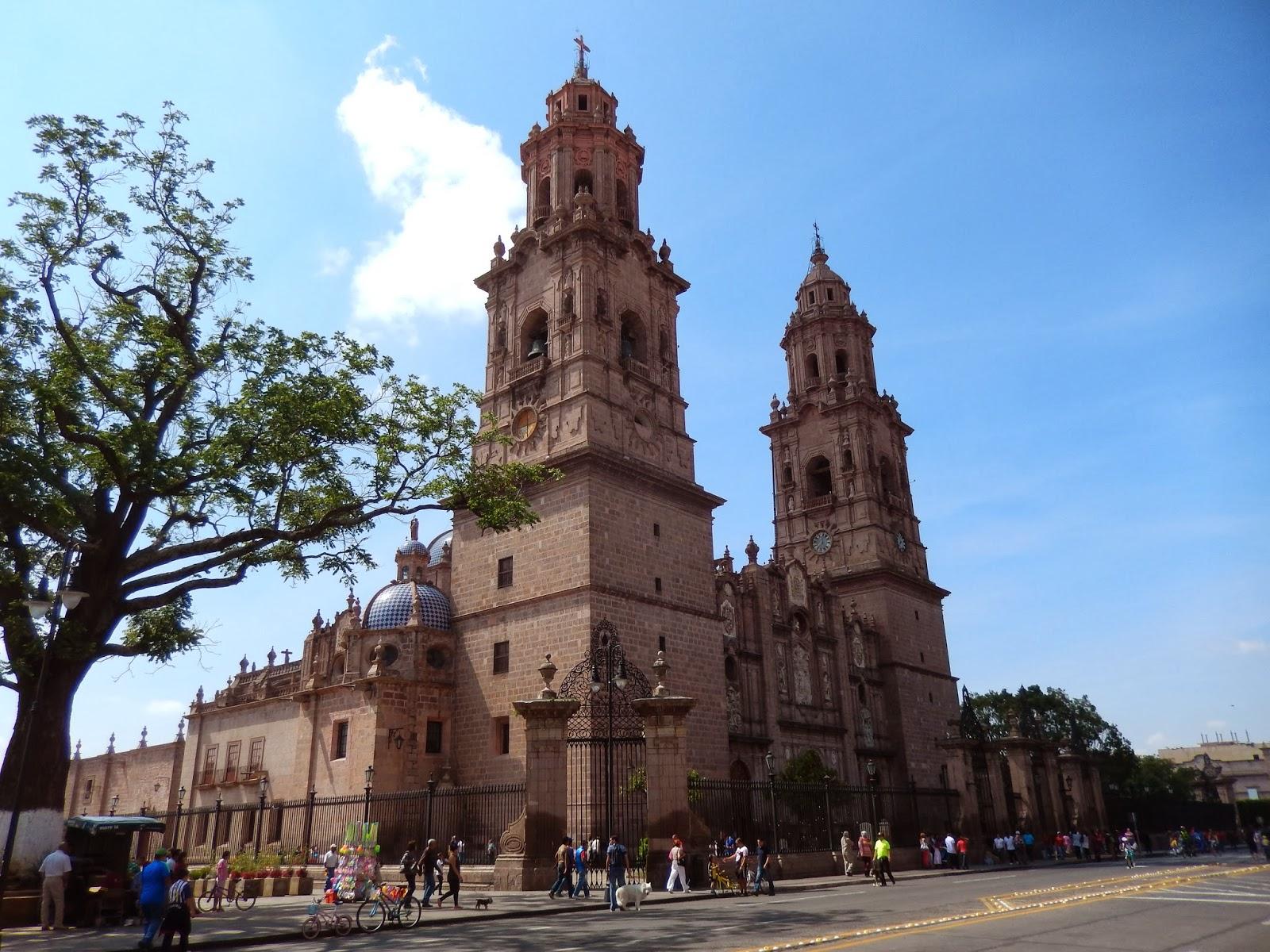 catedral, morelia, mexico, michoacan