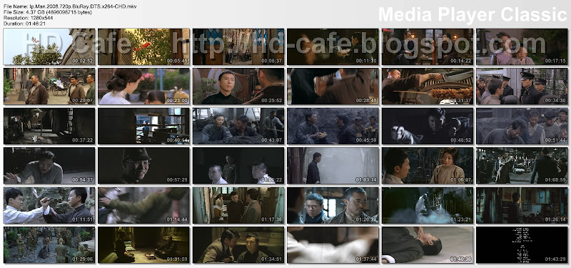 Ip Man 2008 video thumbnails
