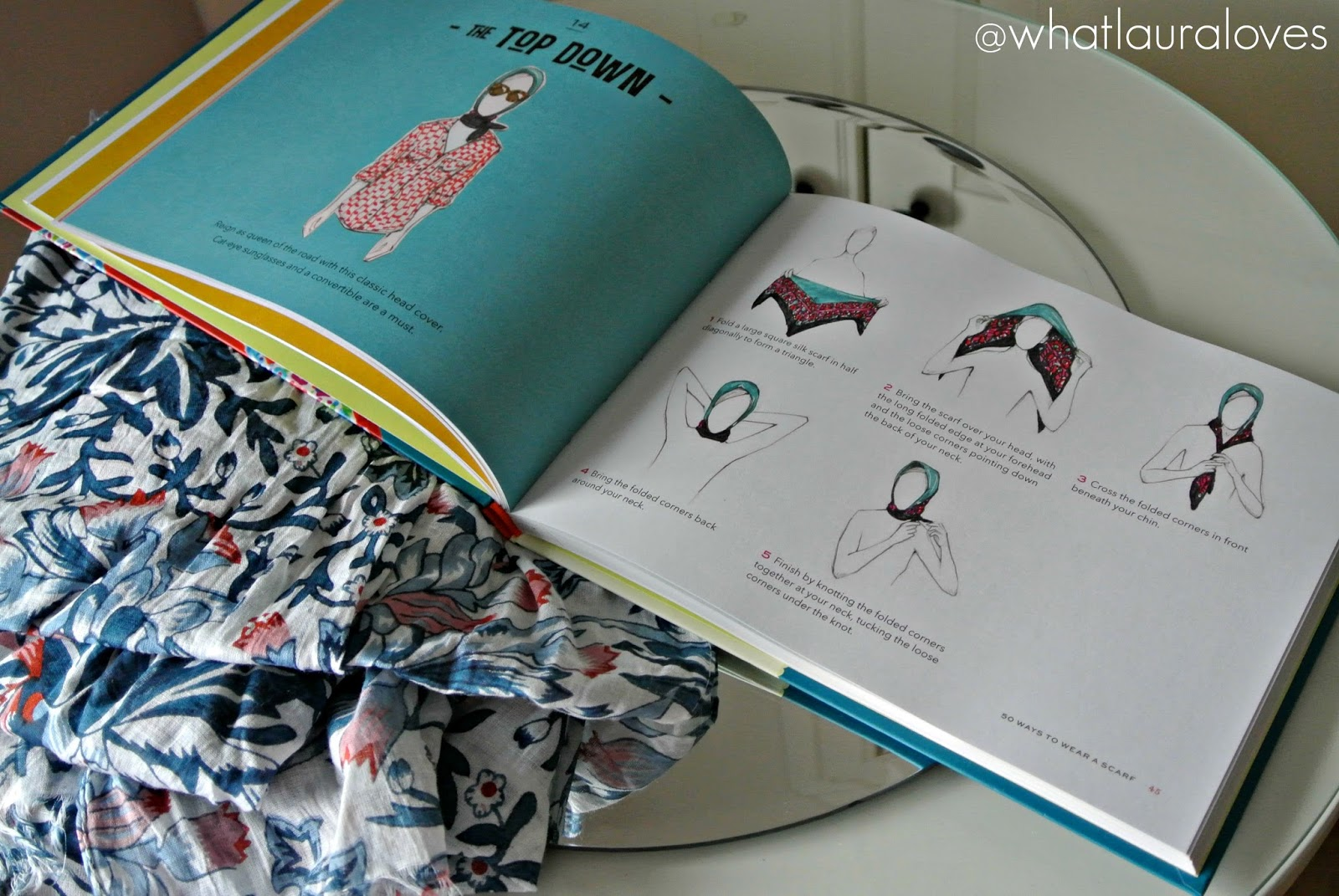 Christmas Gift Guide 50 Ways To Tie A Scarf Book