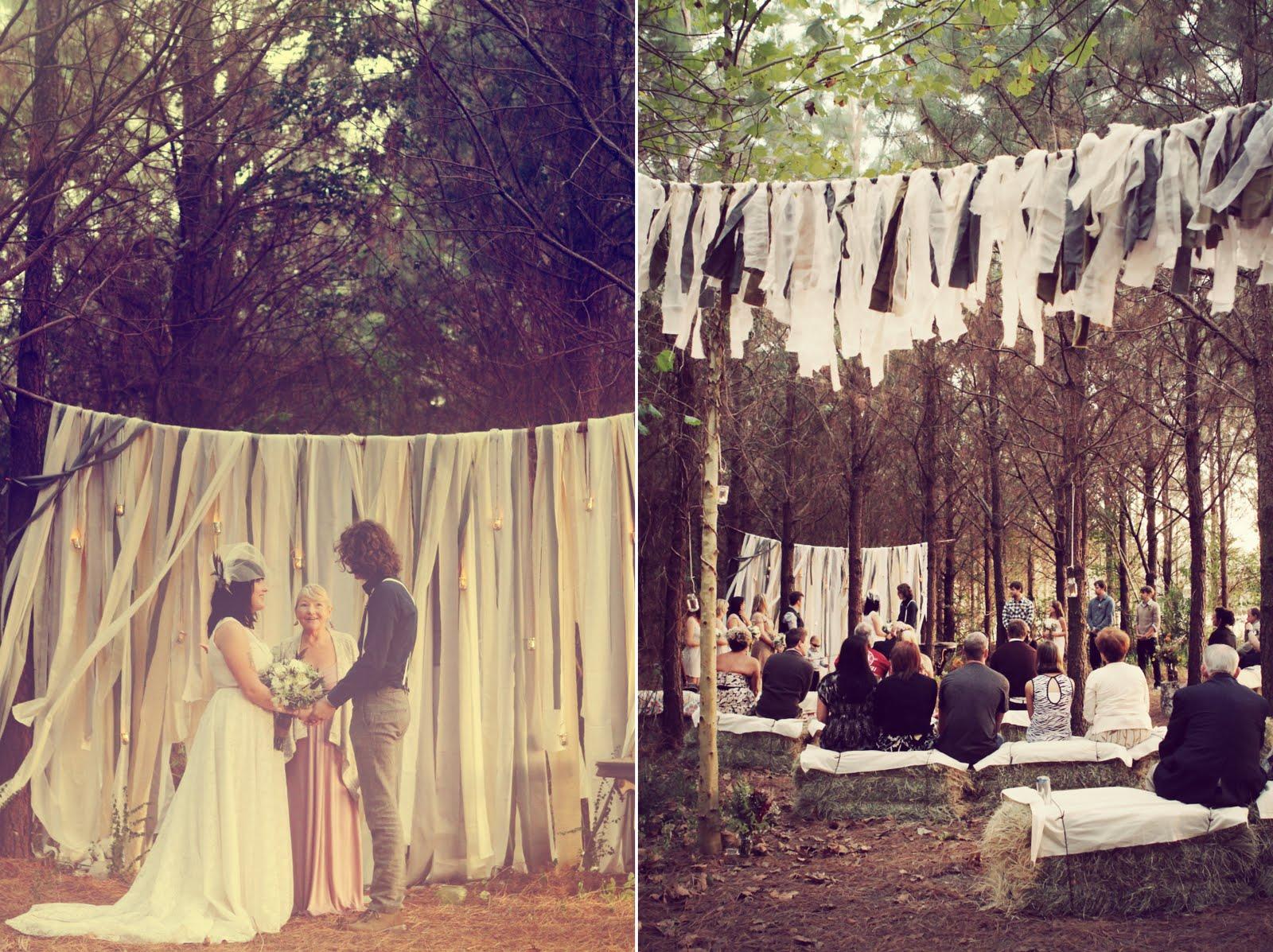 Real Wedding Caitlin And Josh S Dreamy Diy Enchanted
