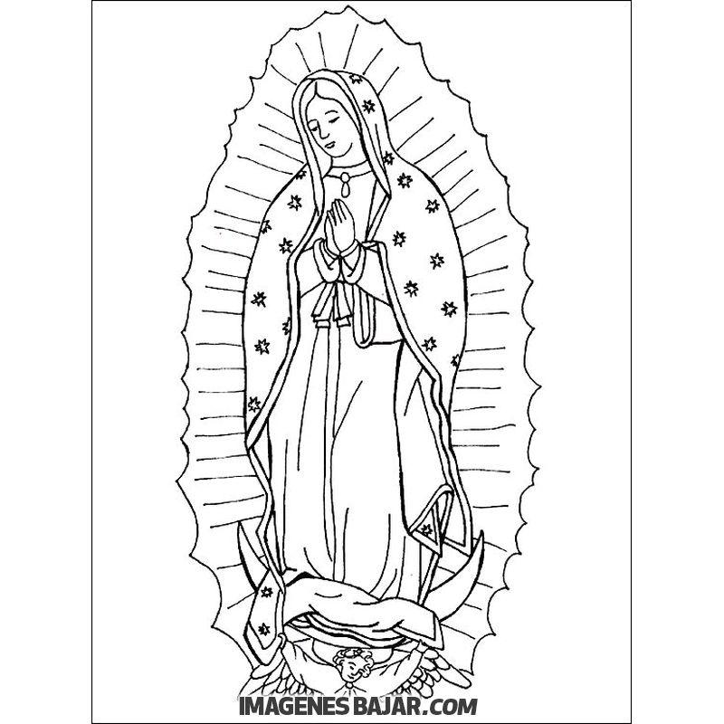 😇 Imágenes de Virgen de Guadalupe 🙏 Bellas y milagrosas ...