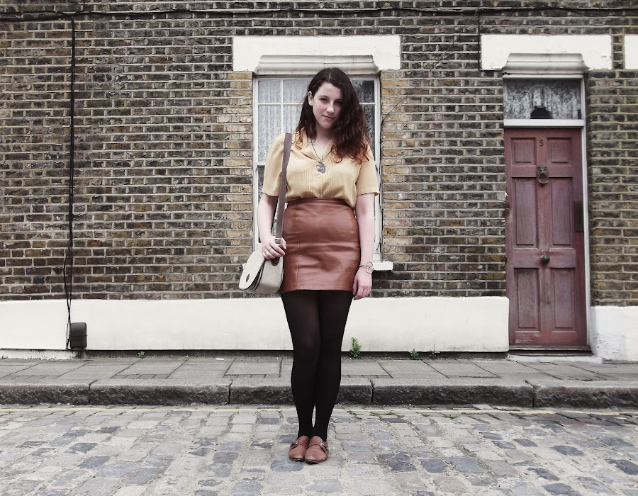 it's cohen - UK fashion blog: What I Wore, brownies, vintage