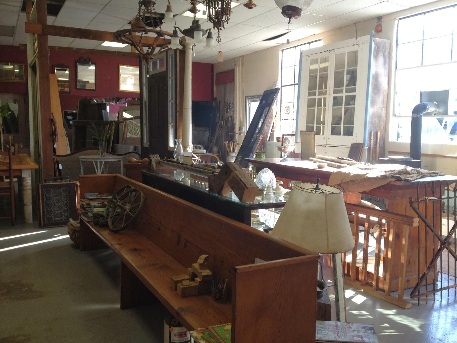 Shop Tour: Salvagewrights Architectural Salvage in Orange, VA