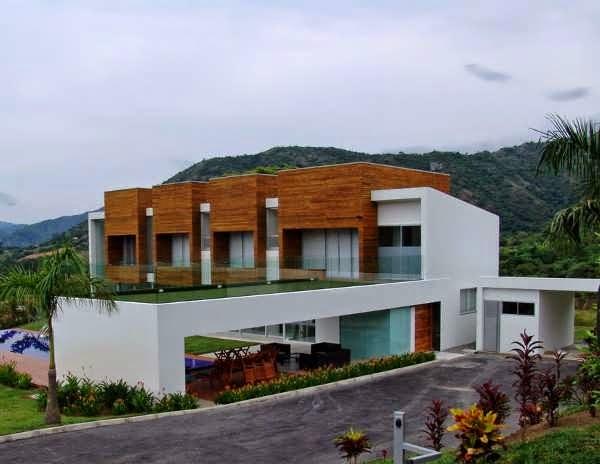 Contemporary european concept house design in columbia for Modern house design concepts