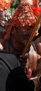 Munduruku in Brasília, June 6 2013.