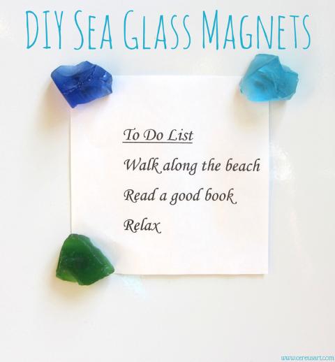 seaglass magnets