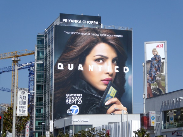 Giant Quantico season 1 billboard