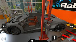 Screenshots of the Fix my car for Android tablet, phone.