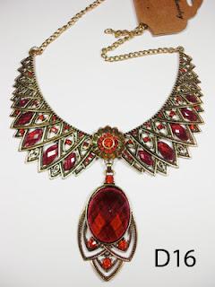 kalung aksesoris wanita d16