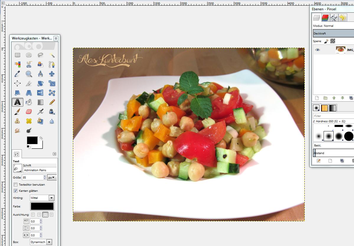 Bildbearbeitung bei GIMP | Ala's Kunterbunt