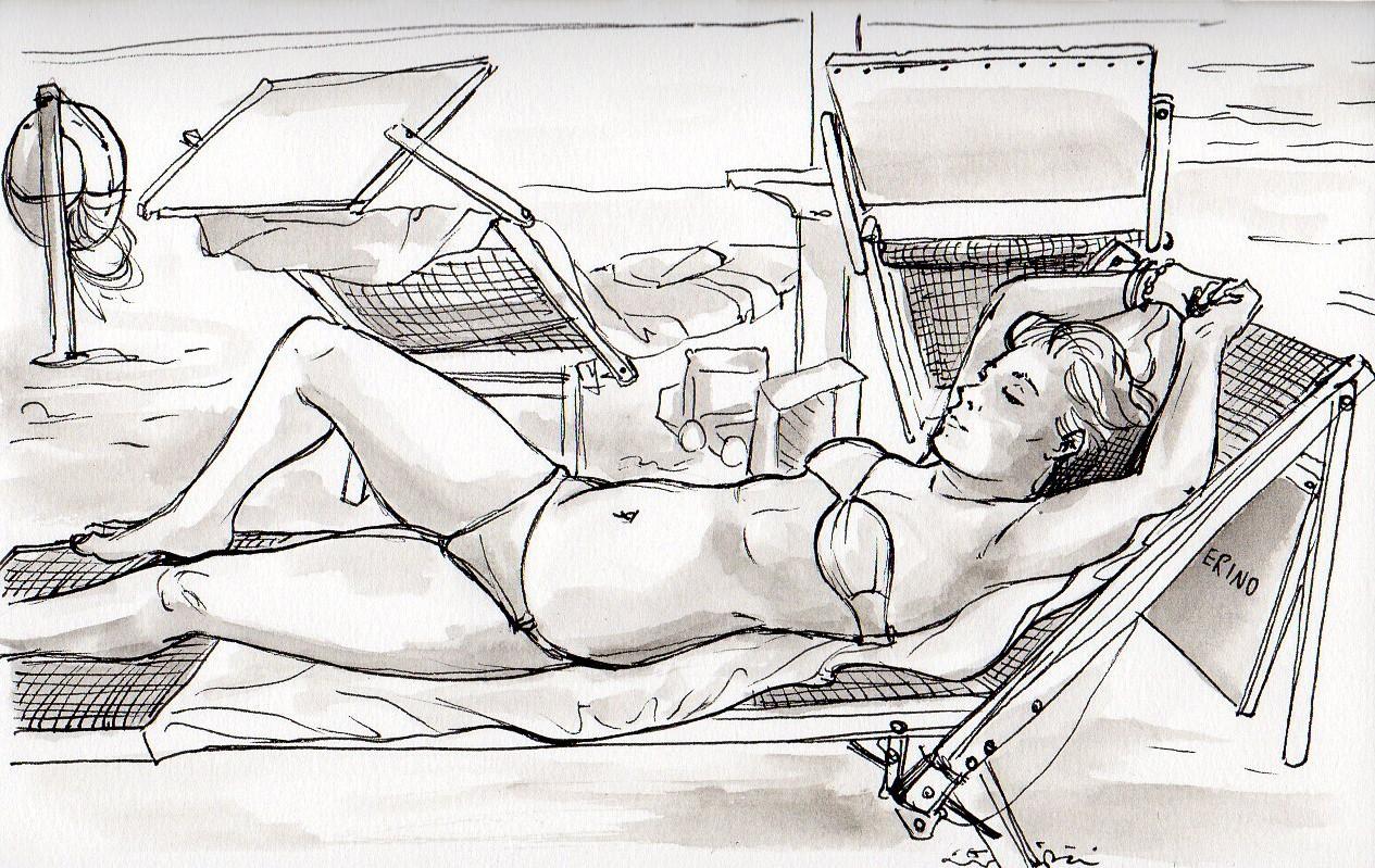 La voce del disegno urban sketch parte 2 for Disegno della casa sulla spiaggia