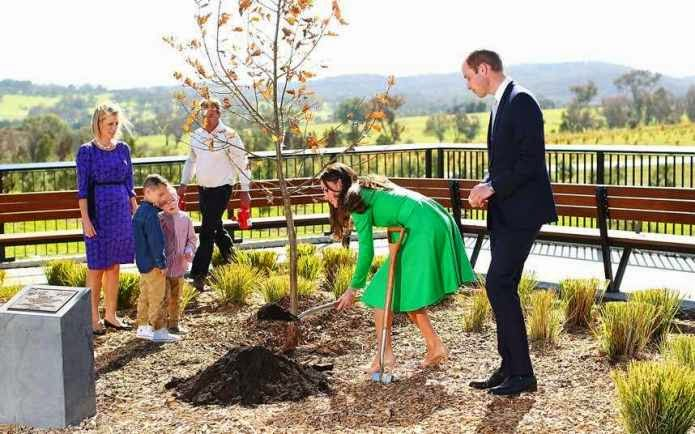 William and Kate Visit Canberra
