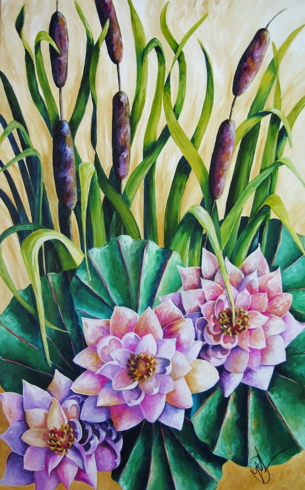 Original painting by Pamela Hunt Lee