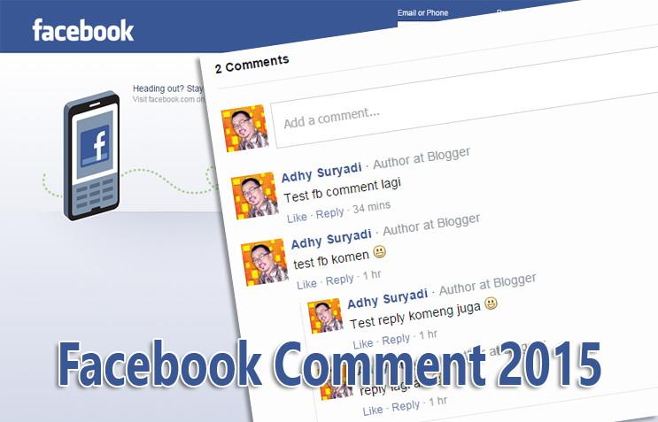 Memasang Responsive Facebook Comment Terbaru 2015 Di Blogger