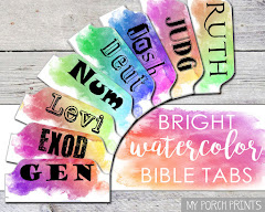 watercolor bible tabs in my etsy shop