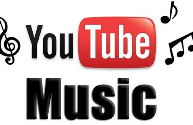 الموسيقى على يوتيوب.