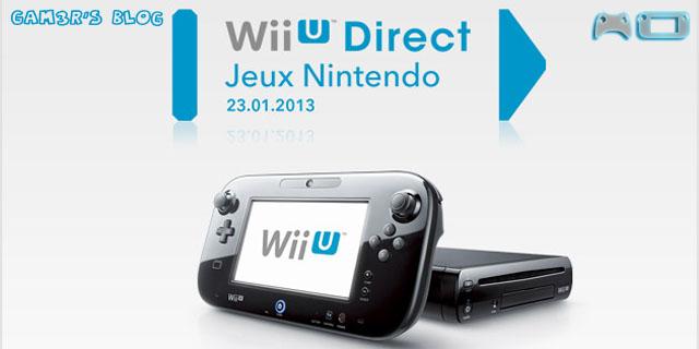 Nintendo Direct Wii U, c'est ici ! - gam3r's blog